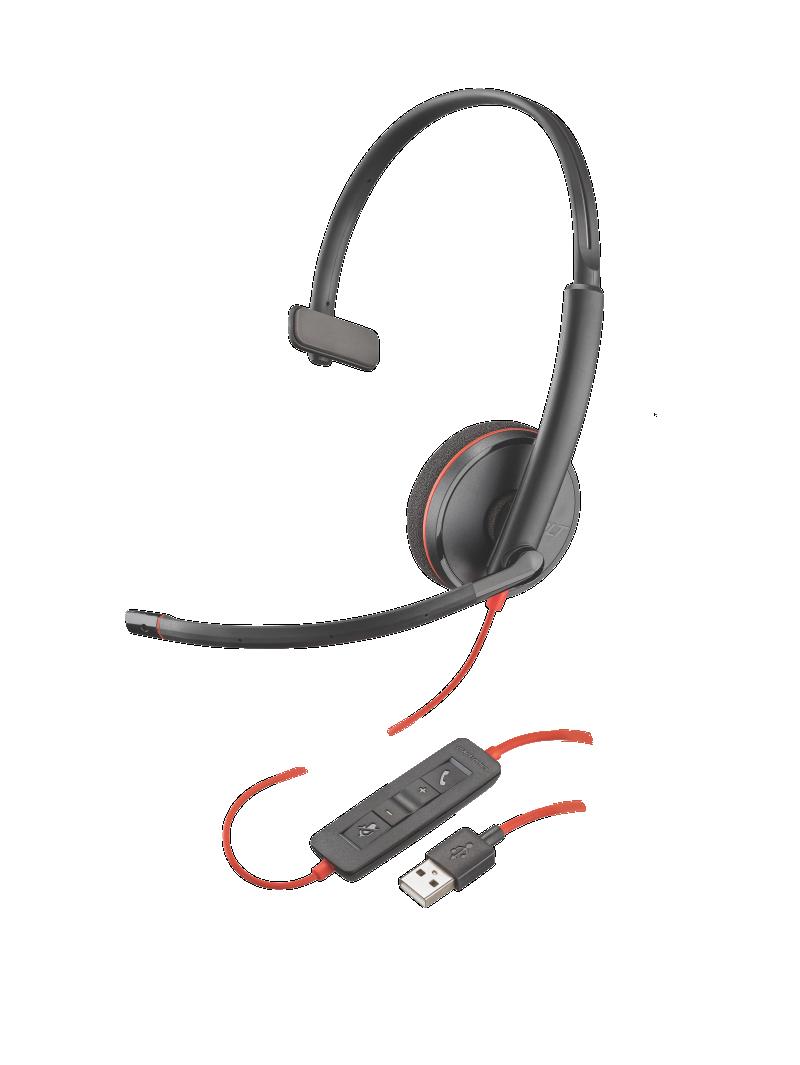 Snom D120 Advanced Monaural Noise Cancelling Headset